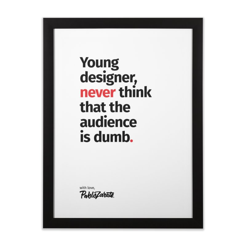 Young Designer #03   by Pablo Zarate Inc. on Threadless