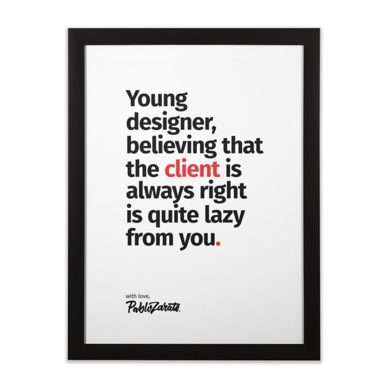 Young Designer #04   by Pablo Zarate Inc. on Threadless