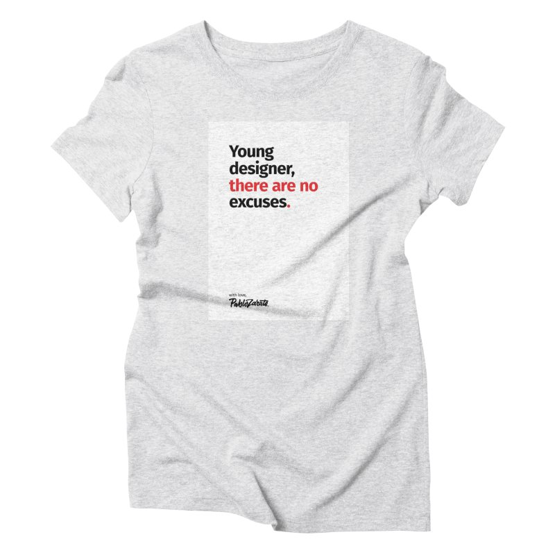 Young Designer #05 Women's Triblend T-Shirt by Pablo Zarate Inc. on Threadless