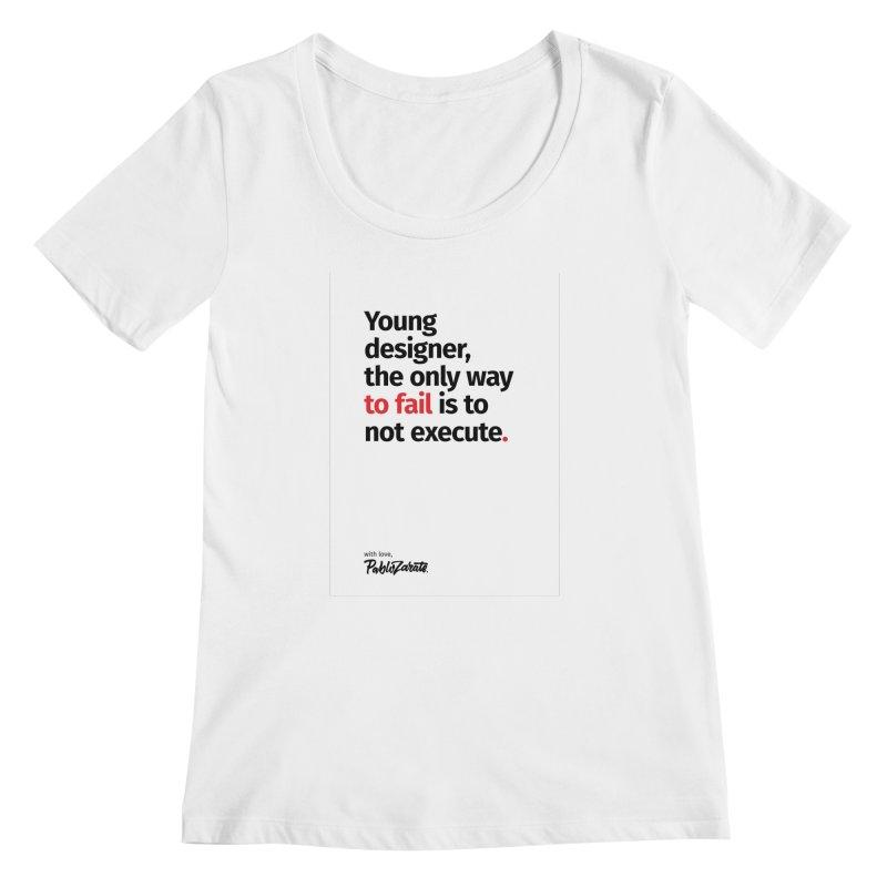 Young Designer #06 Women's Regular Scoop Neck by Pablo Zarate Inc. on Threadless