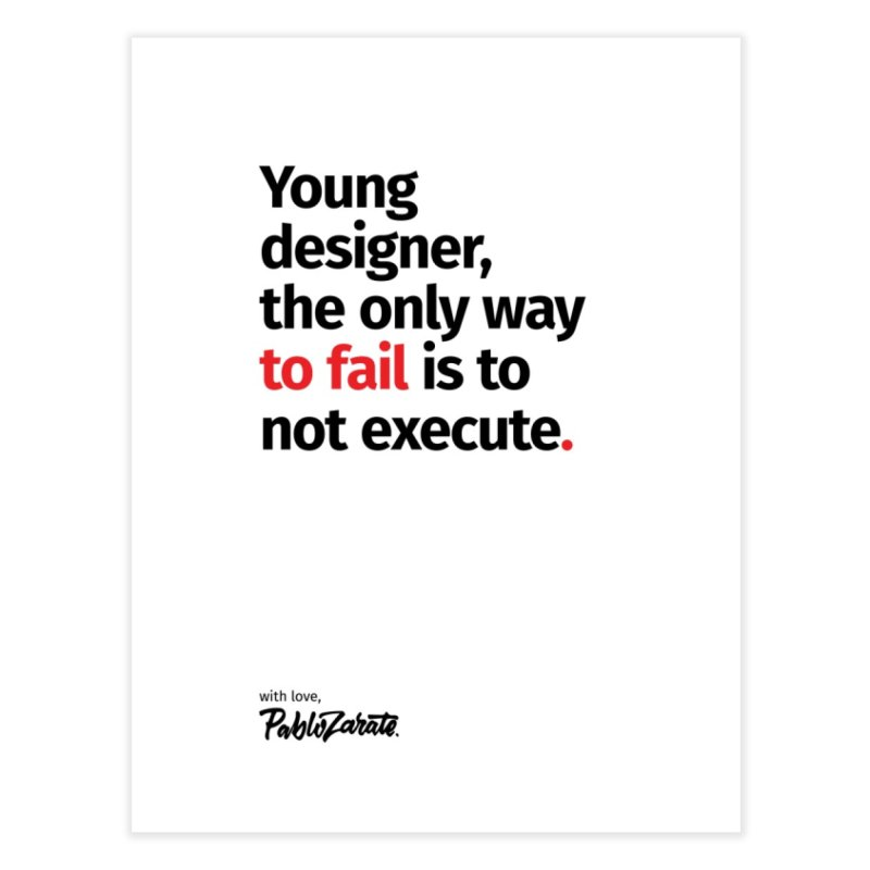 Young Designer #06 Home Fine Art Print by Pablo Zarate Inc. on Threadless
