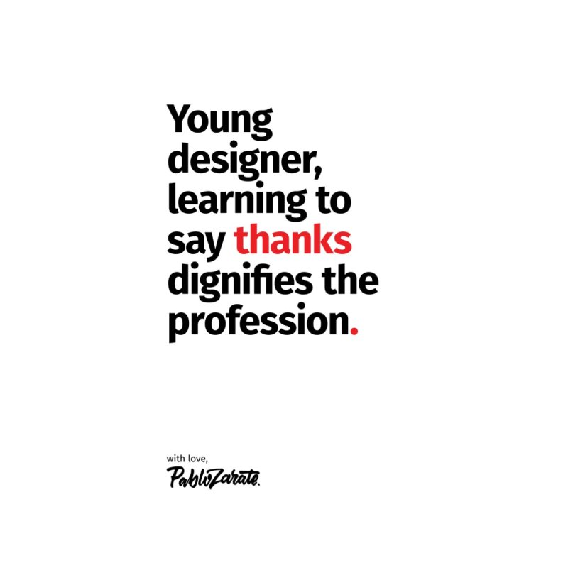 Young Designer #07 by Pablo Zarate Inc. on Threadless
