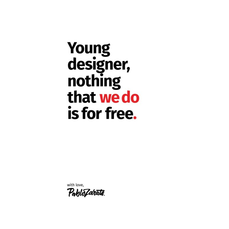 Young Designer #08   by Pablo Zarate Inc. on Threadless
