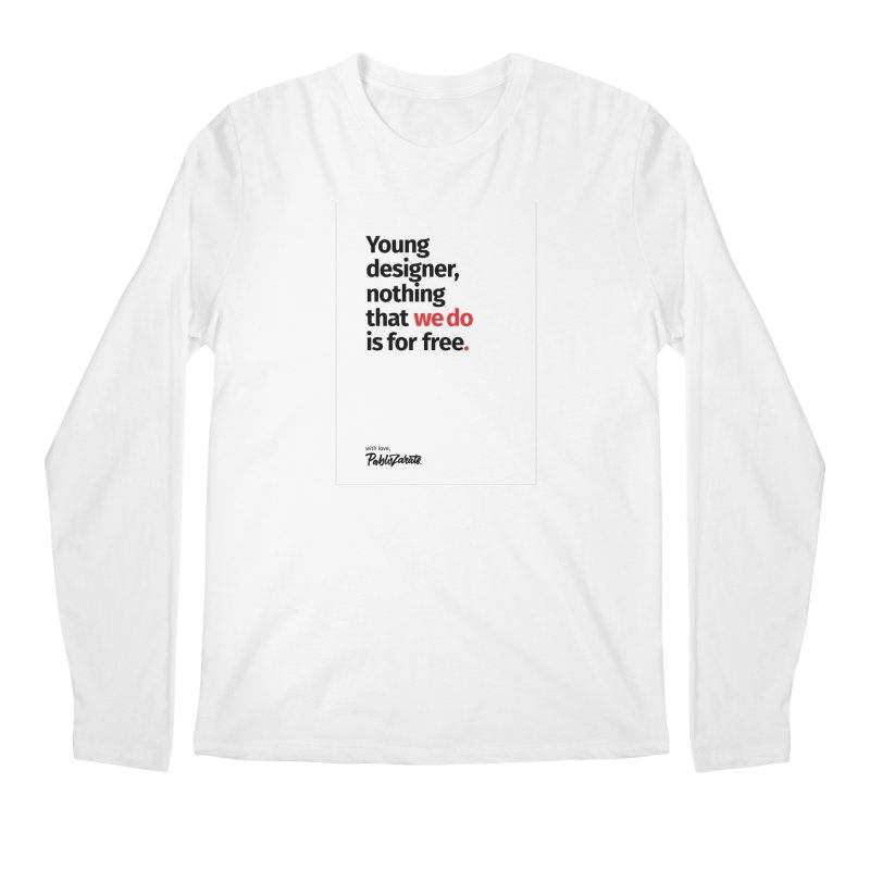 Young Designer #08 Men's Regular Longsleeve T-Shirt by Pablo Zarate Inc. on Threadless