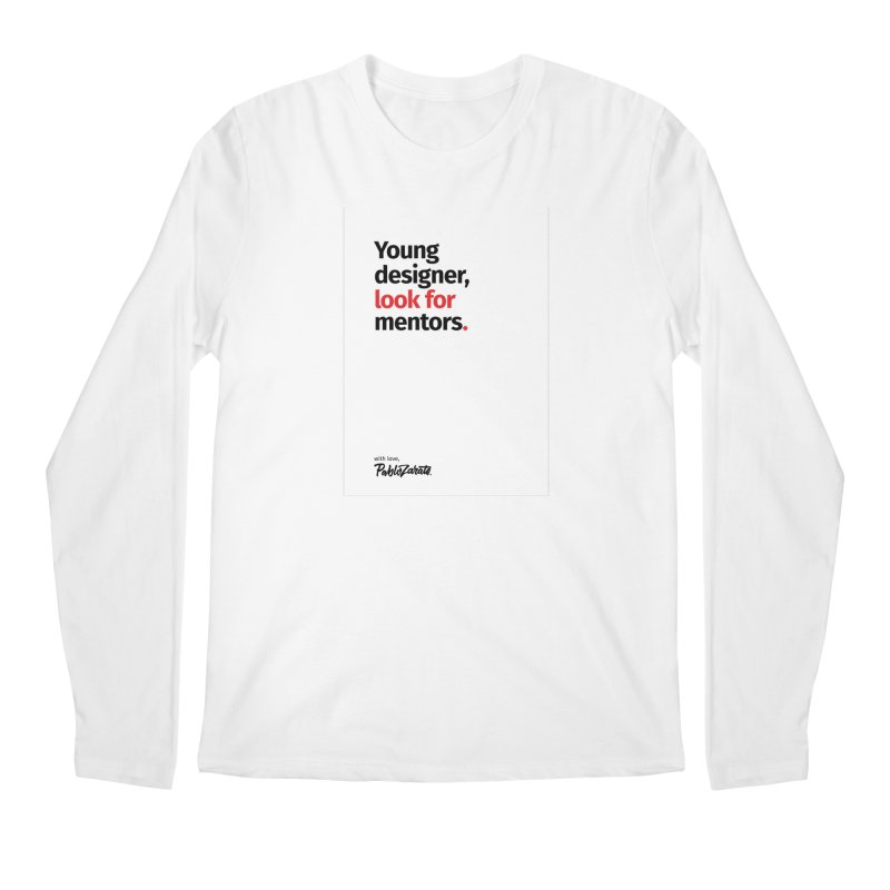 Young Designer #09 Men's Regular Longsleeve T-Shirt by Pablo Zarate Inc. on Threadless