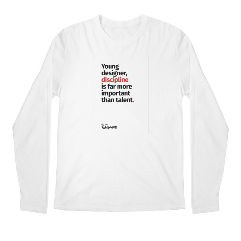 Young Designer #10 Men's Regular Longsleeve T-Shirt by Pablo Zarate Inc. on Threadless