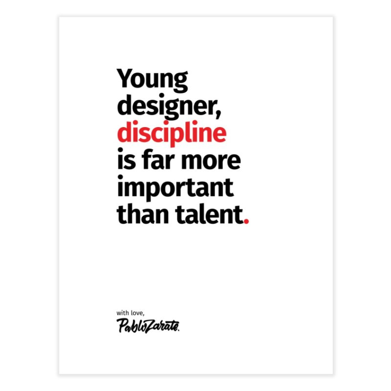 Young Designer #10 Home Fine Art Print by Pablo Zarate Inc. on Threadless