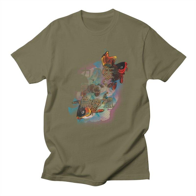 Flying Carps Men's T-shirt by pacografico's Artist Shop
