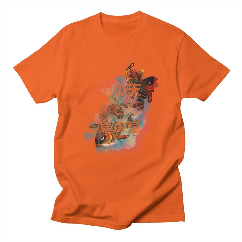 Flying Carps Men's T-Shirt by pacografico's Artist Shop