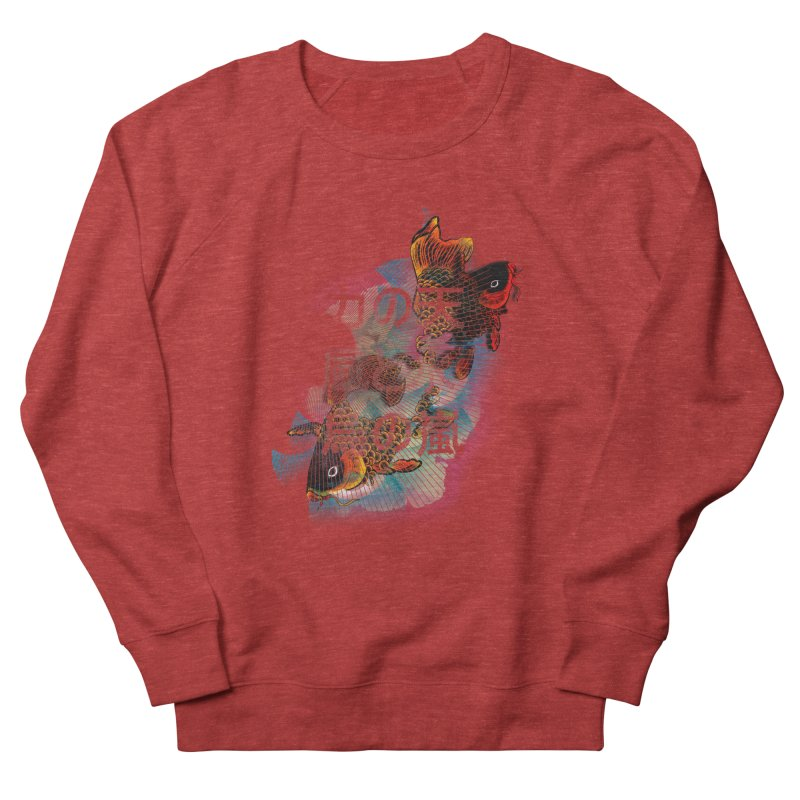 Flying Carps Men's Sweatshirt by pacografico's Artist Shop