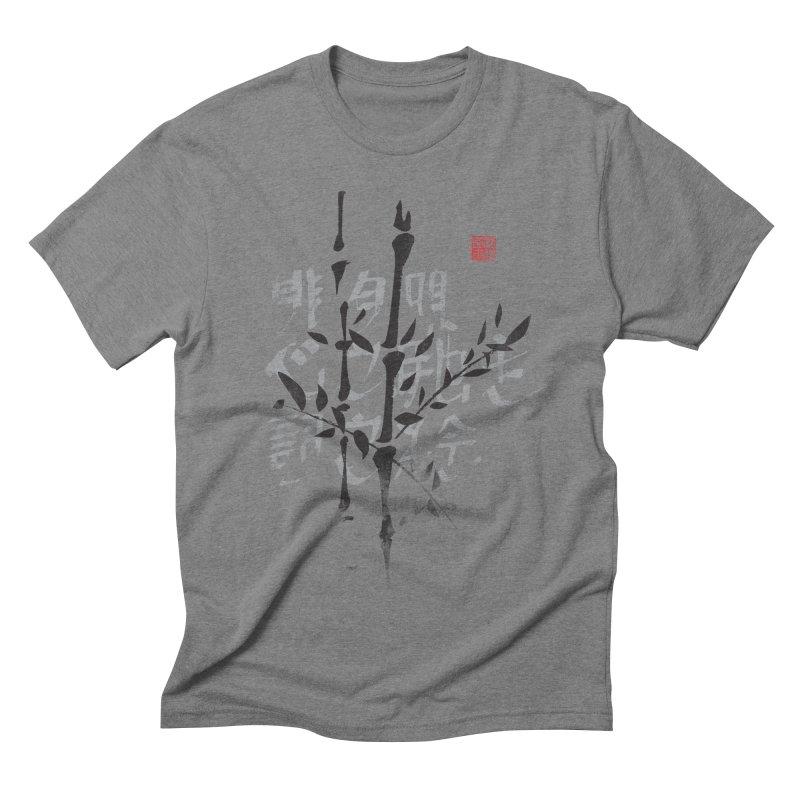 Bamboo Haiku Men's Triblend T-shirt by pacografico's Artist Shop