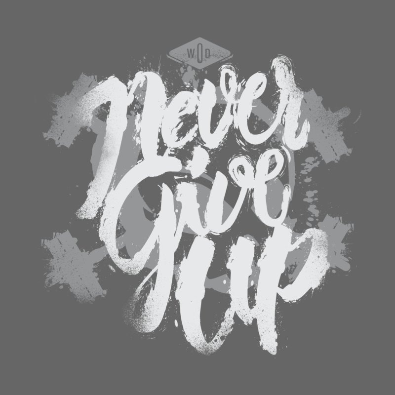 Skull Never Give Up by pacografico's Artist Shop
