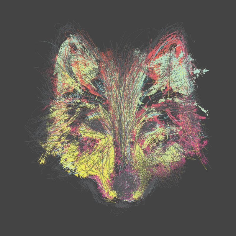 Wolf in Colors by pacografico's Artist Shop