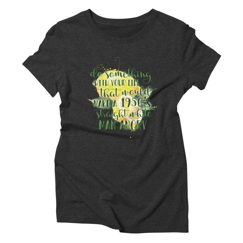 1950's Women's Triblend T-Shirt by Paddy Ribeiro