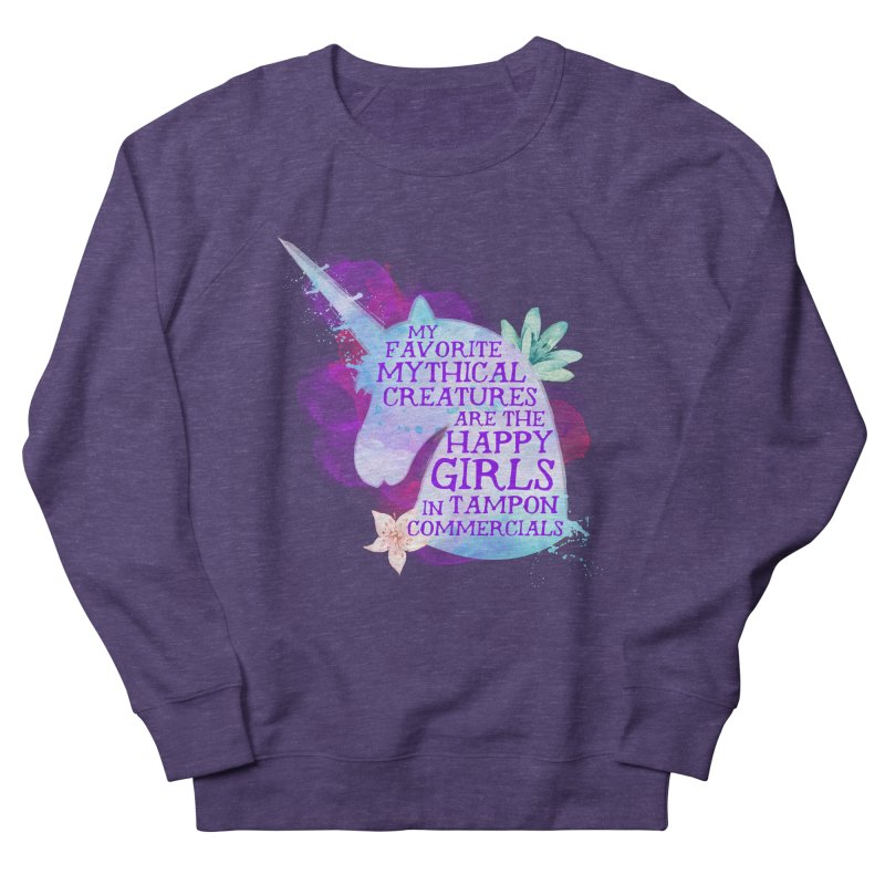 Mythical Women's French Terry Sweatshirt by Paddy Ribeiro