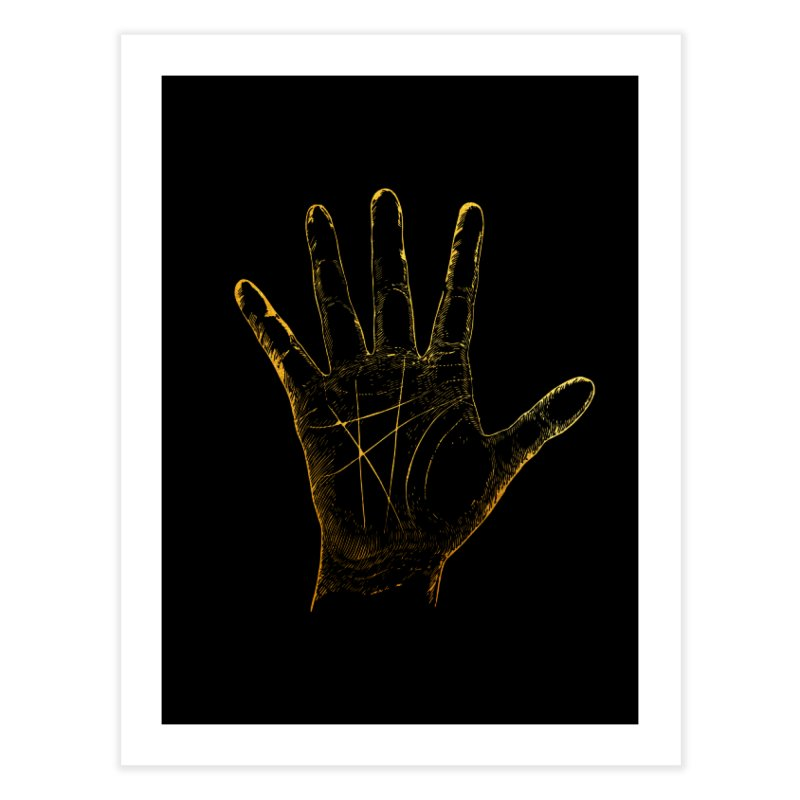 Palmistry Home Fine Art Print by Paddy Ribeiro