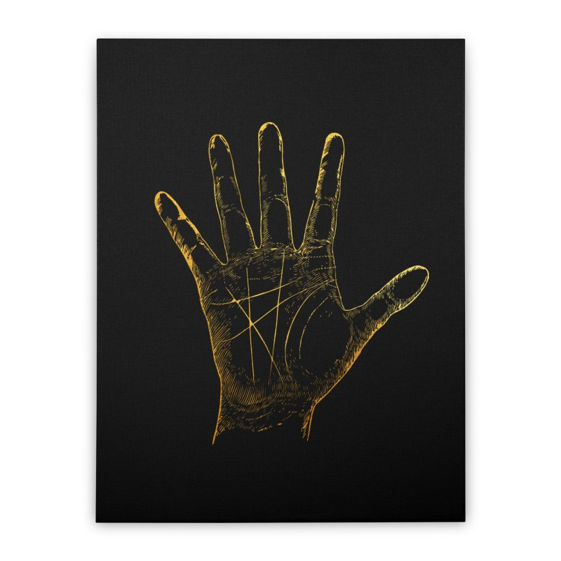 Palmistry Home Stretched Canvas by Paddy Ribeiro