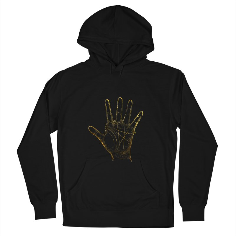 Palmistry Men's French Terry Pullover Hoody by Paddy Ribeiro