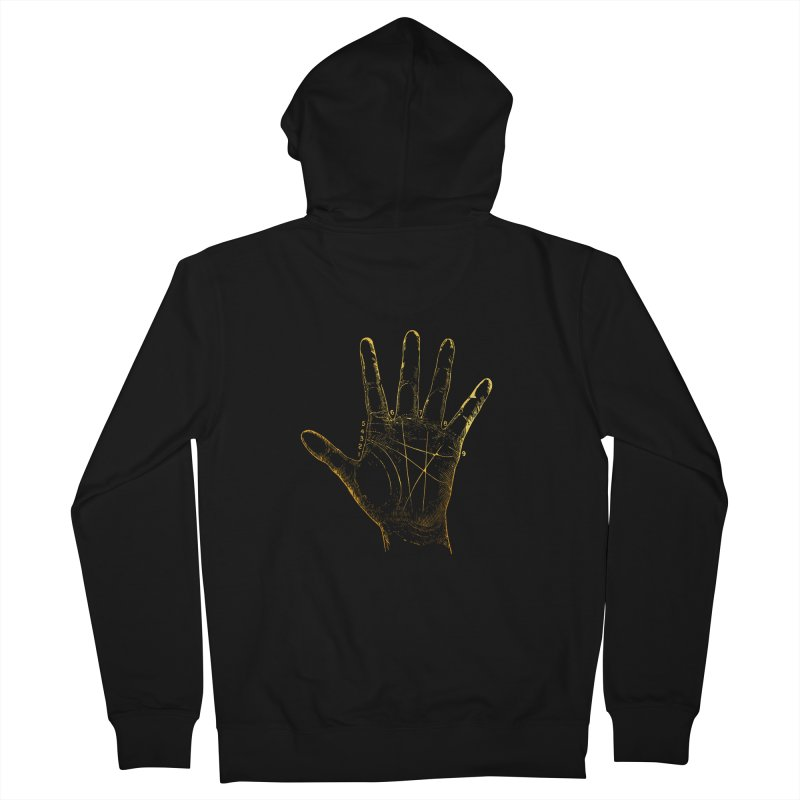Palmistry Men's French Terry Zip-Up Hoody by Paddy Ribeiro