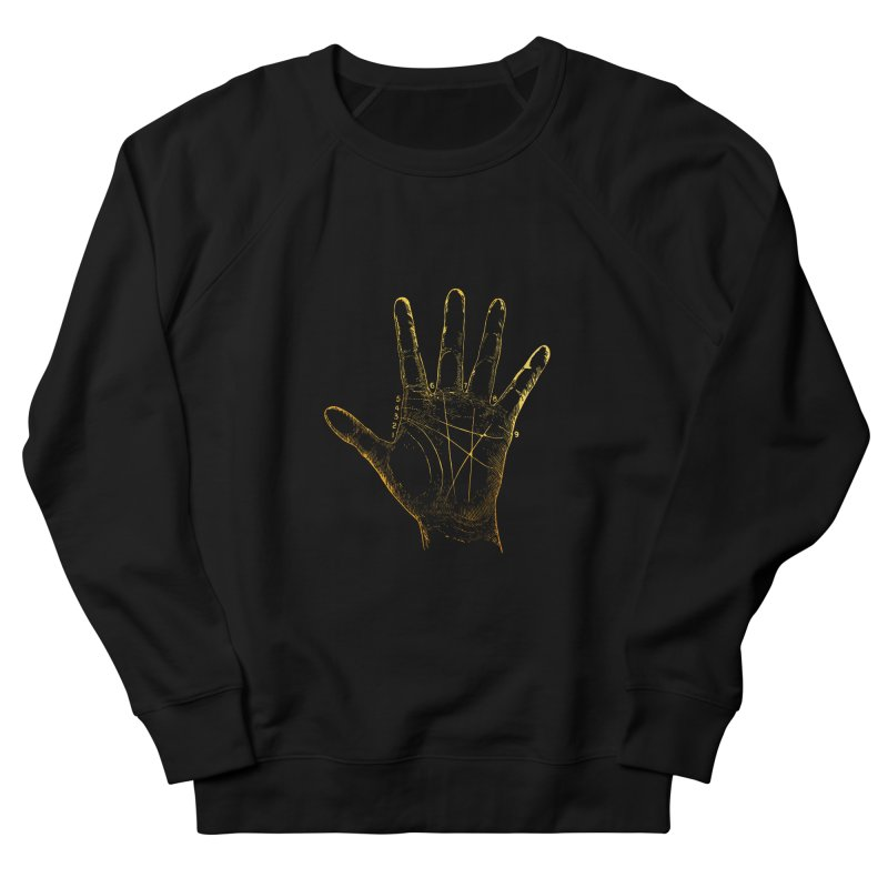 Palmistry Women's French Terry Sweatshirt by Paddy Ribeiro