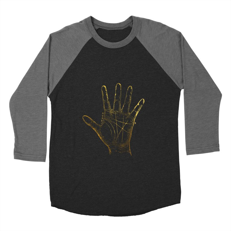 Palmistry Men's Baseball Triblend Longsleeve T-Shirt by Paddy Ribeiro