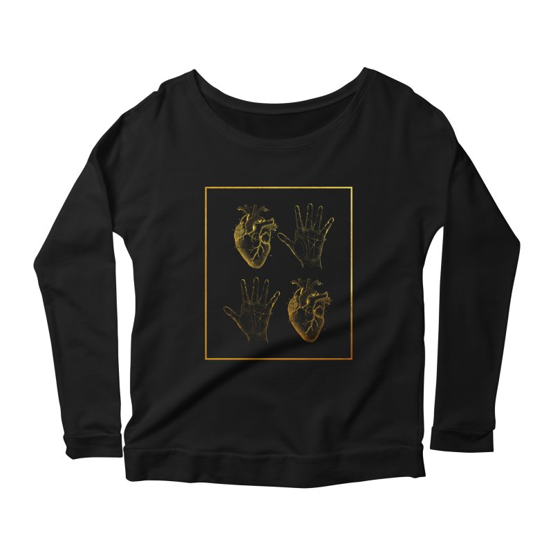 Fate Women's Longsleeve Scoopneck  by Paddy Ribeiro