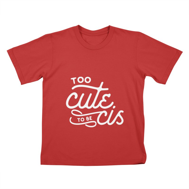 Too Cute Kids T-Shirt by Paddy Ribeiro