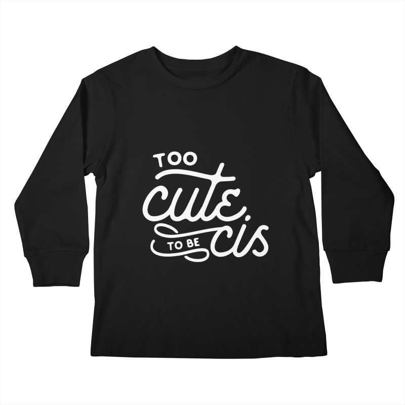 Too Cute Kids Longsleeve T-Shirt by Paddy Ribeiro