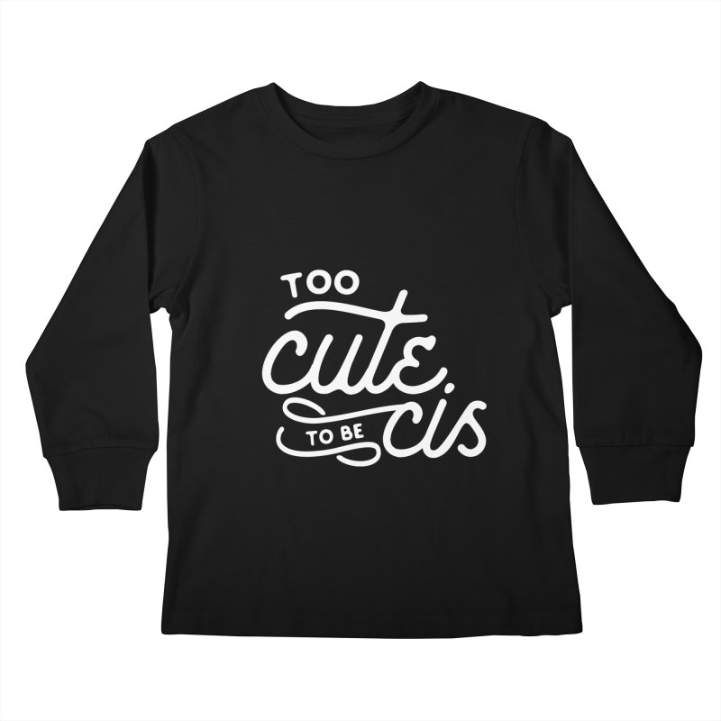 Too Cute Kids Longsleeve T-Shirt by Paddy Ribeiro