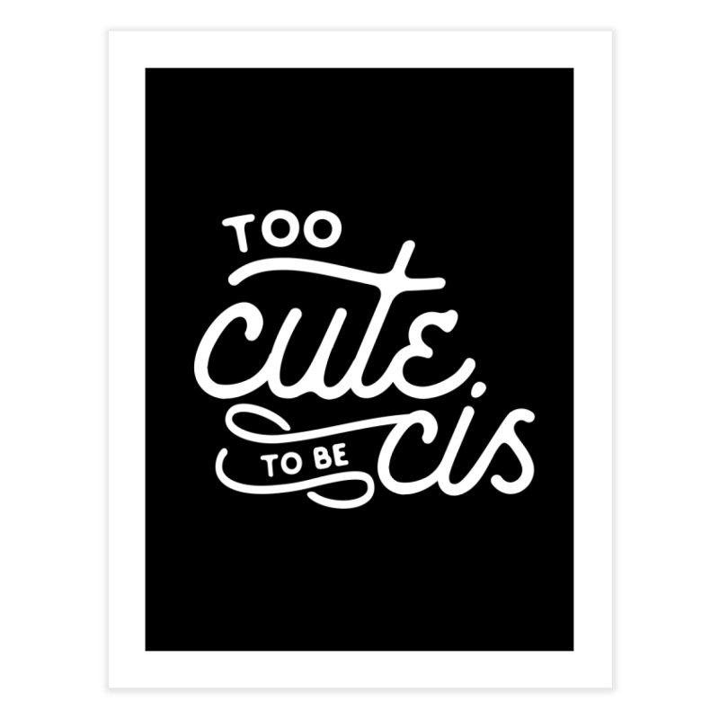 Too Cute Home Fine Art Print by Paddy Ribeiro