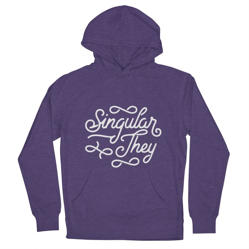 Singular They Women's French Terry Pullover Hoody by Paddy Ribeiro