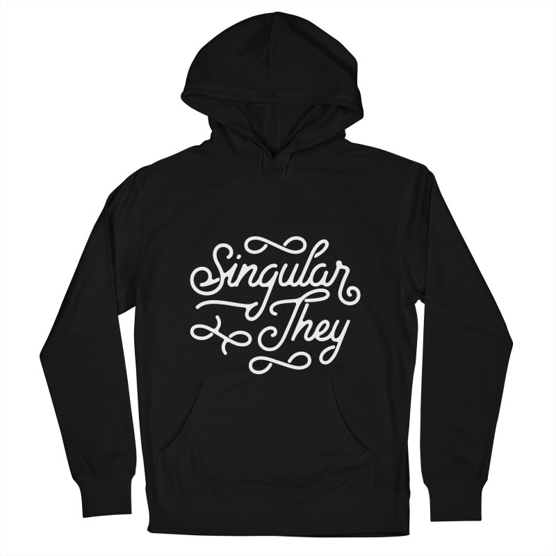 Singular They Men's Pullover Hoody by Paddy Ribeiro