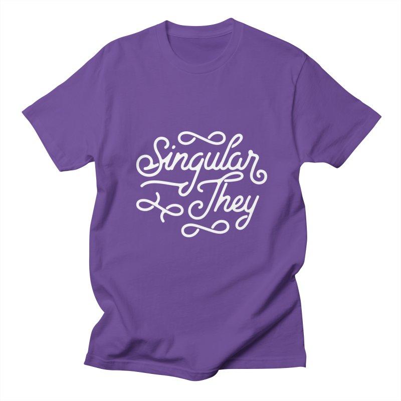 Singular They Men's T-Shirt by Paddy Ribeiro