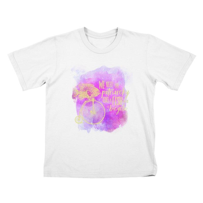 Like a Fish Kids T-Shirt by Paddy Ribeiro