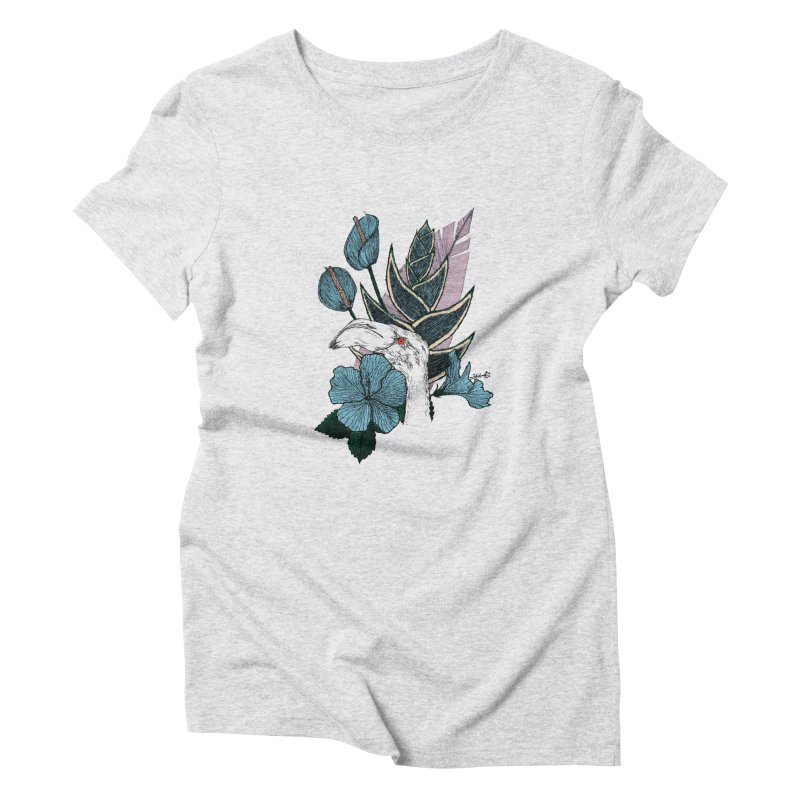 Tropical Hideaway Women's Triblend T-Shirt by paganpageant's Artist Shop