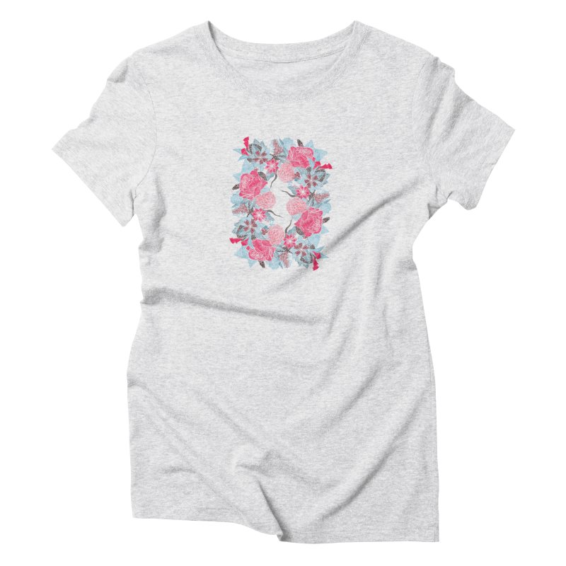 The O Women's Triblend T-Shirt by paganpageant's Artist Shop