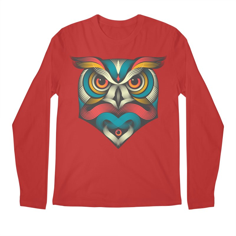 Sowl Men's Longsleeve T-Shirt by pagata's Artist Shop