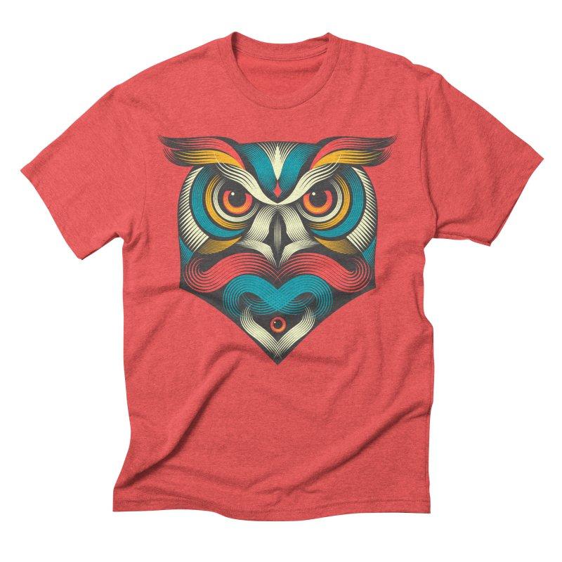 Sowl Men's Triblend T-shirt by pagata's Artist Shop