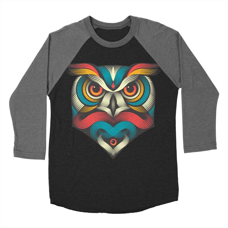 Sowl Women's Baseball Triblend T-Shirt by pagata's Artist Shop