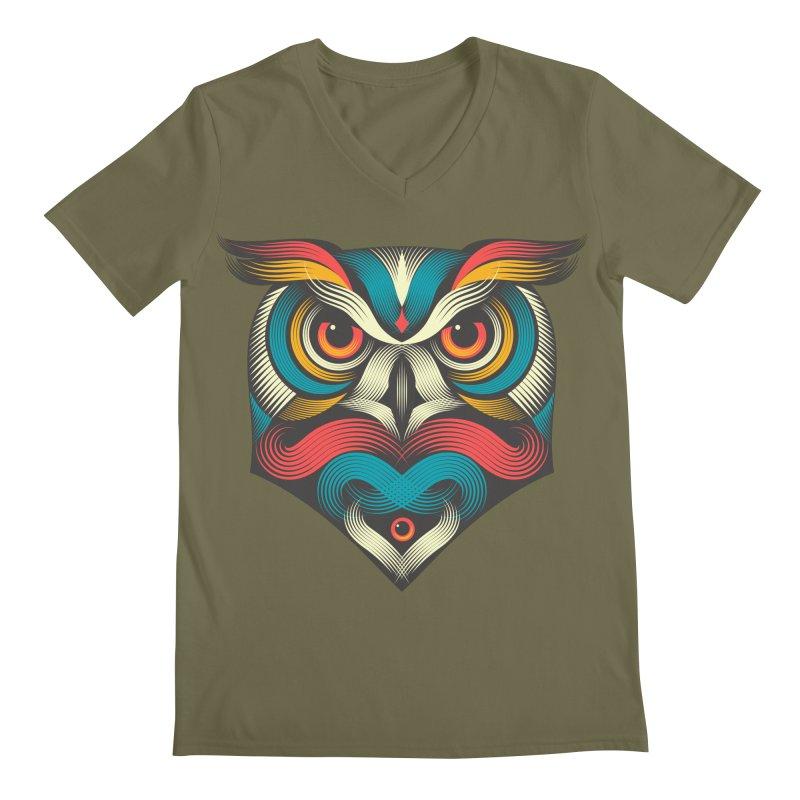 Sowl Men's V-Neck by pagata's Artist Shop