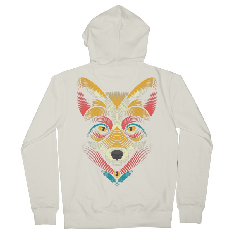 FOXoul Men's Zip-Up Hoody by pagata's Artist Shop