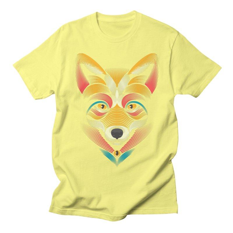 FOXoul Men's T-Shirt by pagata's Artist Shop
