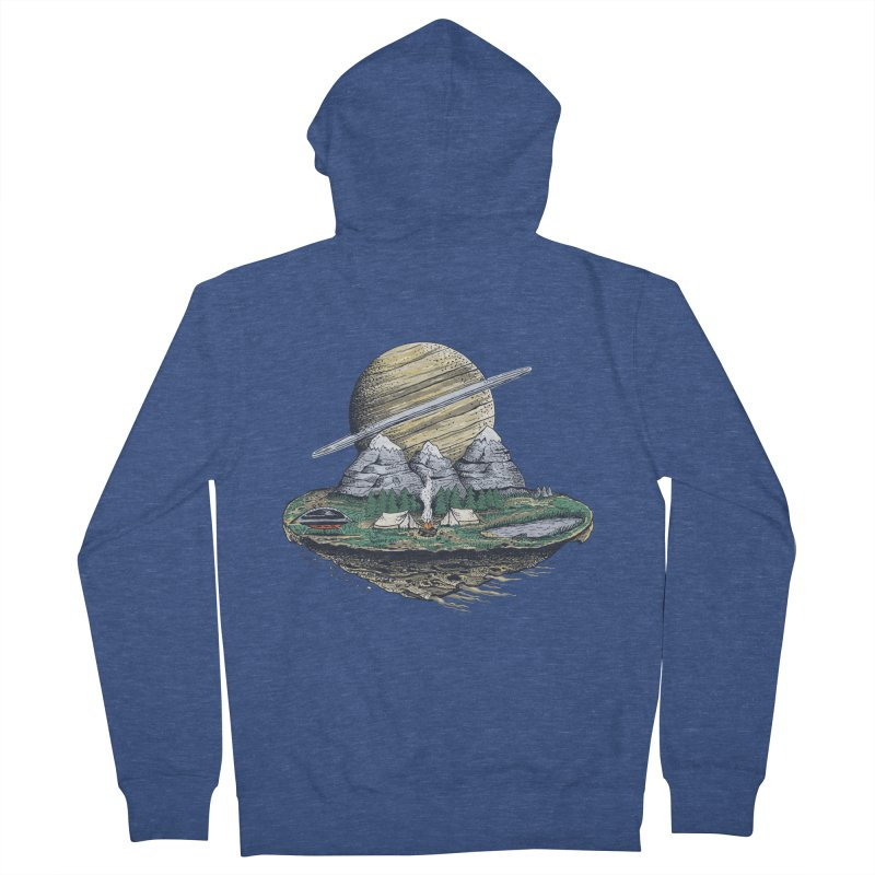 Let's go outside! Men's Zip-Up Hoody by pagata's Artist Shop