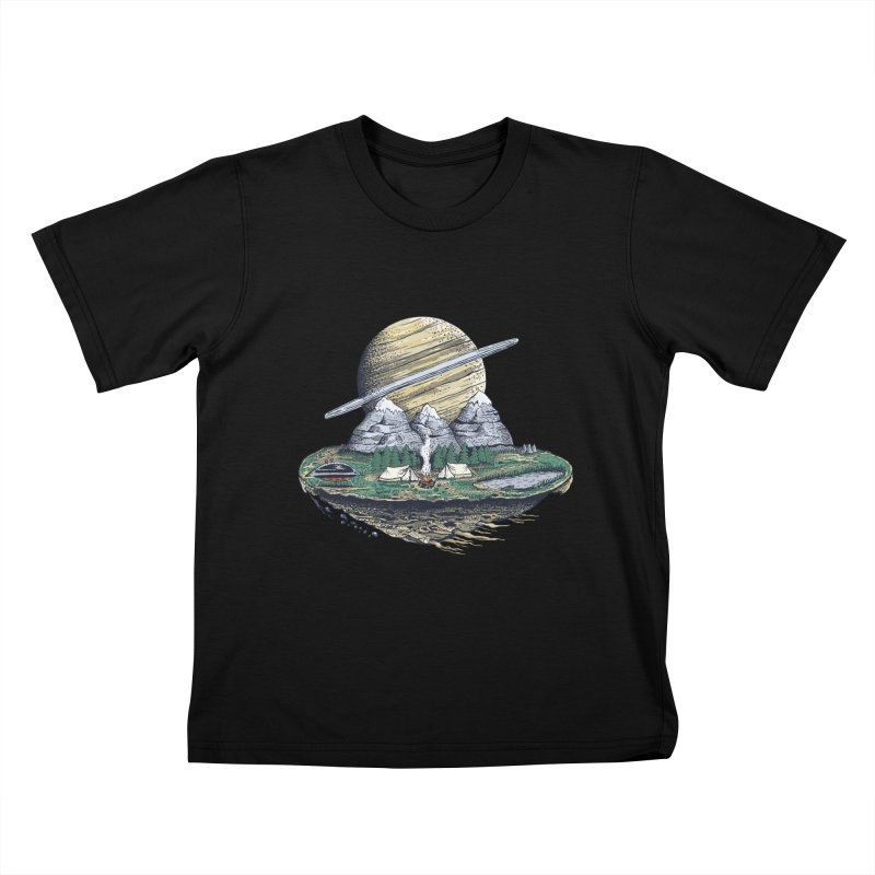 Let's go outside! Kids T-shirt by pagata's Artist Shop