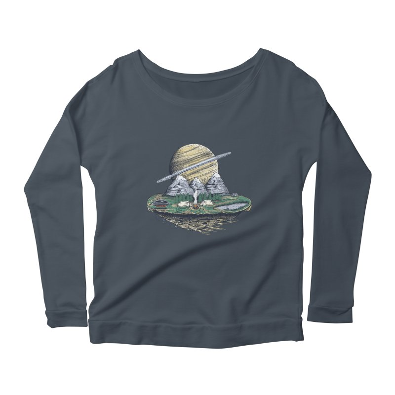 Let's go outside! Women's Longsleeve Scoopneck  by PAgata's Artist Shop