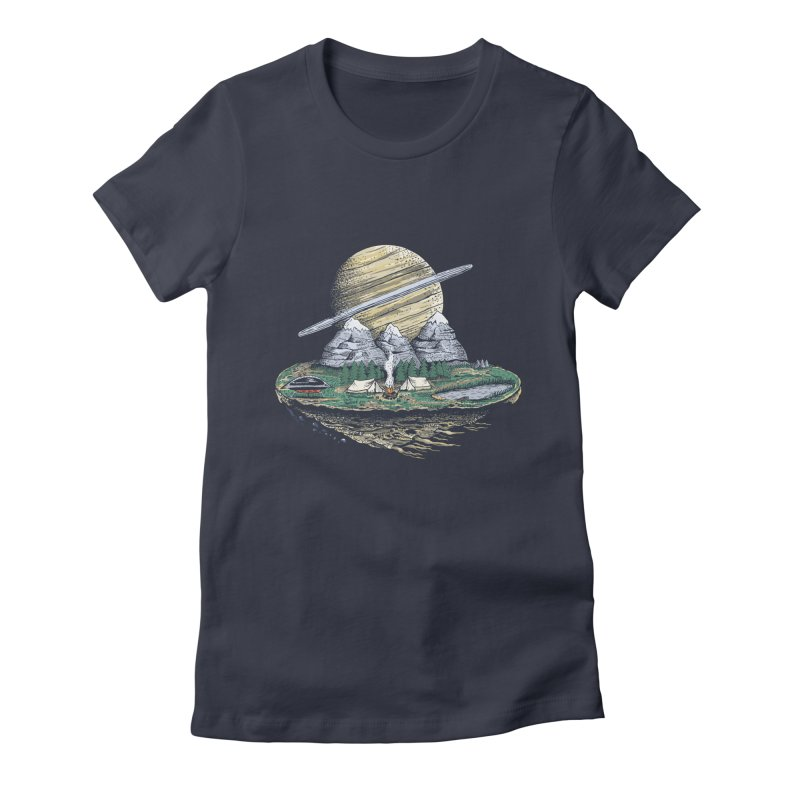 Let's go outside! Women's Fitted T-Shirt by PAgata's Artist Shop