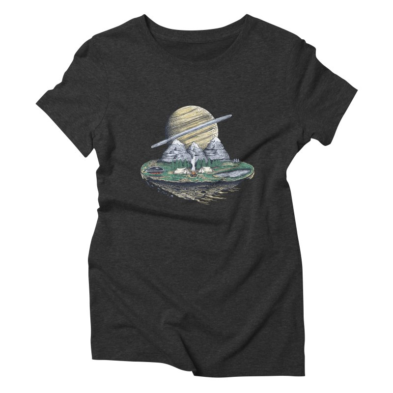 Let's go outside! Women's Triblend T-shirt by pagata's Artist Shop