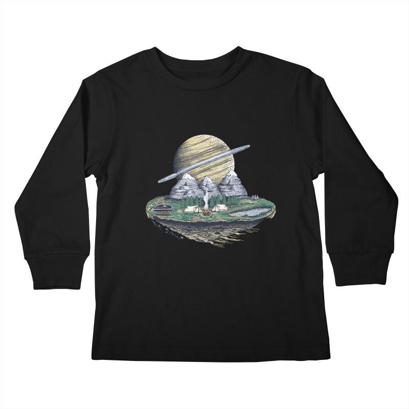 Let's go outside! Kids Longsleeve T-Shirt by pagata's Artist Shop
