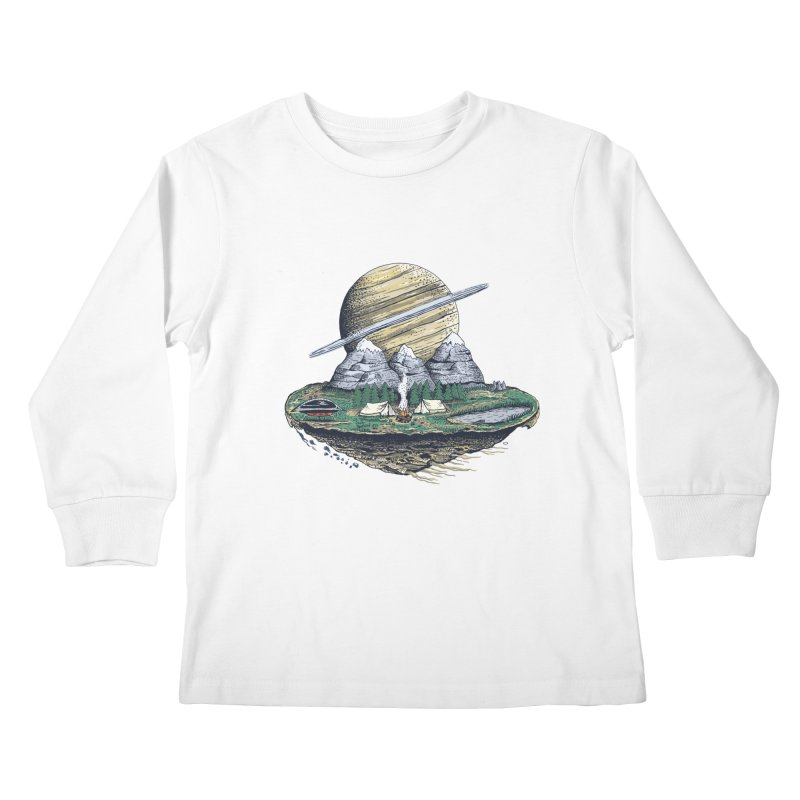 Let's go outside! Kids Longsleeve T-Shirt by pagata's Artist Shop