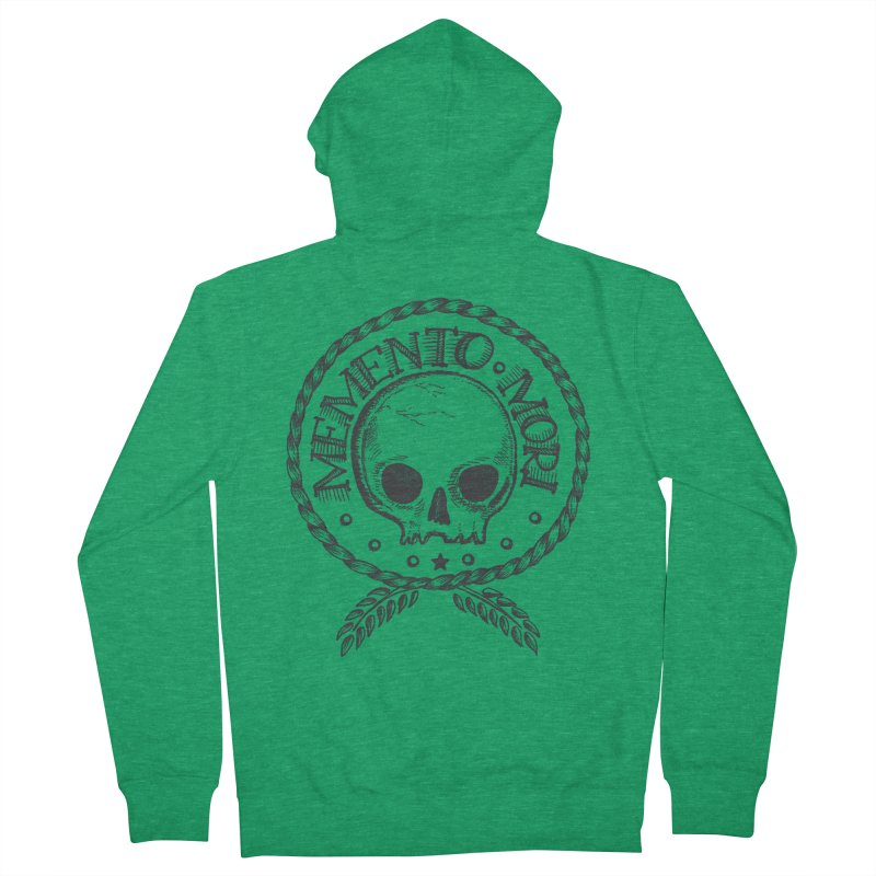 Remember that you must die. Men's Zip-Up Hoody by PAgata's Artist Shop